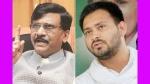 பாஜகவின் கிளை தேர்தல் ஆணையம்..  தேஜஸ்வி முதல்வரானாலும் ஆச்சரியமில்லை.. சிவசேனா தாக்கு