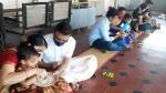 விஜயதசமி உற்சாக கொண்டாட்டம்: கோவில்களில் குழந்தைகளுக்கு வித்யாரம்பம் கோலாகலம்