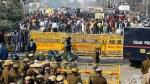 மத்திய பாஜக அரசின் விவசாய சட்டங்களுக்கு எதிரான கிளர்ச்சி- டெல்லியில் 5வது நாளாக விவசாயிகள் போராட்டம்