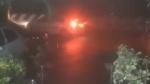 நிவர் கரையை கடக்கும் போது சென்னையை மிரட்டிய புயல் காற்று... கொட்டிய கனமழை