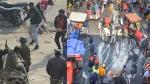 டெல்லி போராட்டம்- 18 போலீசார் படுகாயம்- ஒருவர் ஆபத்தான நிலையில் மருத்துவமனையில் அனுமதி