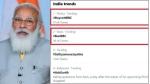 பிரதமரின் மோடியின் தாயாருக்கு எதிராக... தரக்குறைவான கருத்து...  ட்விட்டரில் டிரெண்டாகும் #BoycottBBC