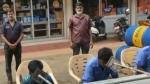 12 மூலிகைகள்.. பைப் மூலம் அனுப்பி ஆவி பிடித்தல்.. சங்ககிரி பெட்ரோல் பங்கில் புதிய முயற்சி