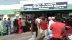 அதிகாலையிலிருந்து தடுப்பூசிக்கு காத்திருந்த வட மாநில தொழிலாளர்கள்.. ஆவேசமான திருப்பூர் மக்கள்