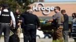 அமெரிக்காவில் சூப்பர் மார்க்கெட்டில் மீண்டும் துப்பாக்கிச் சூடு- ஒருவர் பலி; 13 பேர் படுகாயம்