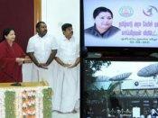 இன்று முதல் அரசு கேபிள் டிவி ஒளிபரப்பு- ஜெயலலிதா தொடங்கி வைத்தார்