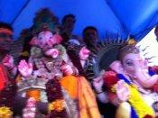 முதல்முறையாக டல்லாஸில் விநாயகர் சிலை கரைப்பு!
