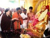 தேவர் கனவுப்படி காங்.கை விரட்டியடிப்போம் - நினைவிடத்தில் ஜெ. முழக்கம்