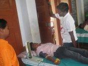 பெருந்தலைவர் காமராஜர் 112-வது பிறந்தநாள்: சிவகாசியில் ரத்த தானம்
