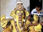 விநாயகர் சதுர்த்தி ஸ்பெஷல்... மும்பை கிங் சர்க்கிள் விநாயகர் சிலை ரூ. 259 கோடிக்குக் காப்பீடு