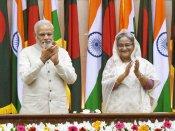 வாஜ்பாய்க்கு விருது தந்த வங்கதேசம்.. நேரில் பெற்றார் மோடி