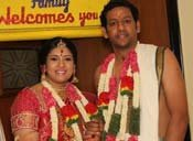 Actress Sanghavi And Venkatesh Wedding
