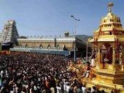 திருப்பதி தெப்பக்குளத்தில் மிதந்த ஆண் பிணம்- அதிர்ச்சியில் பக்தர்கள்