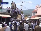 சேலம்: ஹைகோர்ட் உத்தரவை மீறி காமராஜர் சிலை திறக்கப்பட்டதால் பதற்றம்- வீடியோ