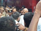 குற்றாலத்தில் ஆளுநர் ரோசய்யா... பாதுகாப்பு ஏற்பாடுகள் தீவிரம்