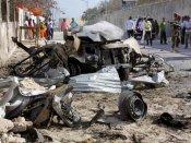 சோமாலியா அதிபர் மாளிகை அருகே தீவிரவாதிகள் தாக்குதல்: ராணுவத்தினர் உள்பட 12 பேர்  பலி