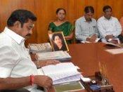 2 மணிநேரம் நடைபெற்ற அமைச்சரவை கூட்டம்! பட்ஜெட் பற்றி ஆலோசனை!!