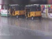 பயங்கர இடி... செம மழை... கிருஷ்ணகிரி மக்கள் குஷியோ குஷி - வீடியோ