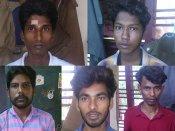 சென்னை தேனாம்பேட்டை போலீஸ் நிலையம் மீது பெட்ரோல் குண்டு வீச்சு.. 6 பேர் கைது