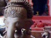 நீதிமன்ற வளாகத்தில் விநாயகர் சிலை திருட்டு... அதிர்ச்சியில் திண்டுக்கல் போலீசார்
