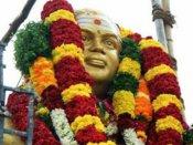 தேவர் ஜெயந்தி... பசும்பொன்னில் முதல்வர், துணை முதல்வர் அஞ்சலி