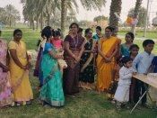 அபுதாபியில் பொங்கல் கொண்டாட்டம்… பாரம்பரியத்தை மறக்காத தமிழர்களுக்கு வாழ்த்துகள்
