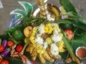 சின்ன அறை.. கடித்துத் தின்ன கரும்புத் துண்டுகள்.. சந்தோஷ பொங்கல்.. இது அமெரிக்காவில்!