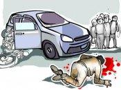 விழுப்புரம் அருகே கட்டுப்பாட்டை இழந்த கார்... கர்ப்பிணி உட்பட 4 பேர் பலி