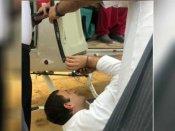 ஹிமாச்சலில் பழுதான ஹெலிகாப்டர்.. டக்கென மெக்கானிக் ஆக மாறி பழுதை நீக்கி அசத்திய ராகுல்காந்தி
