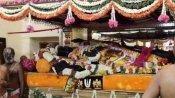 நாளை முதல் நின்ற கோலத்தில் அத்திவரதர்.. அலைமோதும் பக்தர்கள் கூட்டம்..பாதுகாப்பு ஏற்பாடுகள் மும்முரம்