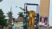 அம்பேத்கர் சிலை உடைக்கப்பட்டதால் பரபரப்பு.. வேதாரண்யம், கோவையில் போராட்டம்.. போலீஸ் குவிப்பு!