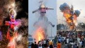விஜயதசமி, தசரா: வடமாநிலங்களில் ராவணன் உருவ பொம்மை எரிப்பு- பல்லாயிரக்கணக்கானோர் பங்கேற்பு
