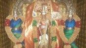 கொரோனா அரக்கனை  ஒழிக்க வரும் முருகன் கை வேல்  - சிவன்மலை ஆண்டவர் உத்தரவு பெட்டியில் பூஜை