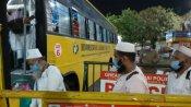 தமிழக தப்லீக் ஜமாத் உறுப்பினர்கள் 558 பேர் சிறப்பு ரயிலில் திருச்சி வருகை.. ஆட்சியர் வரவேற்பு