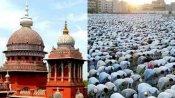 ரம்ஜான் - 2 மணி நேரம் சிறப்பு தொழுகை நடத்த  அனுமதி கோரிய  வழக்கு தள்ளுபடி
