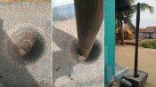 சூரிய கிரகணத்தின் போது தருமபுரி, நெல்லையில் உலக்கை செங்குத்தாக நிற்கும் அரிய காட்சி