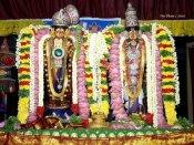 ஸ்ரீவில்லிபுத்தூர் ஆண்டாள் கோவில் ஆடிப்பூரம் விழா - கோவில் வளாகத்தில் 5 கருடசேவை