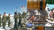 சீனா ஊடுருவல்: நாடாளுமன்ற அனைத்து கட்சி தலைவர்களுக்கு விளக்கம் அளிக்க மத்திய அரசு திட்டம்