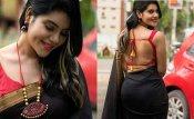பின்னழகை சூம் பண்ணி காட்டினா ... பாக்குறவங்க கண்ணு என்னாவது.. நிவிஷா தனி ரகம்தான்!