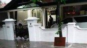 சென்னையில் கொட்டும் மழை... மறைந்த முதல்வர் கருணாநிதி வீட்டிற்குள் புகுந்த வெள்ள நீர்