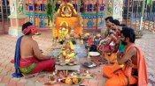 ஸ்ரீ மஹா பைரவர் ருத்ர ஆலயத்தில் தசராவதி ஸ்ரீ சாமுண்டீஸ்வரி அம்பிகை பீடம் கும்பாபிஷேகம்