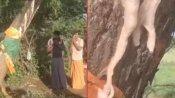 வேப்ப மரத்திலிருந்து விடாமல் வடியும் பால்.. மக்கள் பரவசம்- வீடியோ