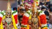 ஸ்ரீரங்கத்தில் வைகுண்ட ஏகாதசி : மோகினி அலங்காரத்தில் எழுந்தருளிய நம்பெருமாள்