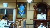 புதுச்சேரியில் கவிழ்ந்த காங்கிரஸ் ஆட்சி.. சட்டசபையில் ஆளும்-எதிர்க்கட்சி எம்எல்ஏக்கள் காரசார வாதம்
