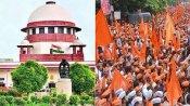 மகாராஷ்டிரா: மராத்தா சமூகத்தினருக்கான இடஒதுக்கீட்டை ரத்து செய்தது உச்சநீதிமன்றம்