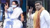 மேற்கு வங்க தேர்தல்.. மீண்டும் ஆட்சி அமைக்கும் திரிணாமுல்.. 215 இடங்களில் முன்னிலை.. பாஜகவிற்கு 75!