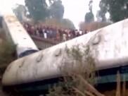 கான்பூரில் அஜ்மீர்-சால்டா எக்ஸ்பிரஸின் 14 பெட்டிகள் தடம் புரண்டு விபத்து: 2 பேர் பலி