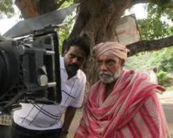 Sathyaraj with Thangar Bachan