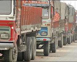 Lorry Strike