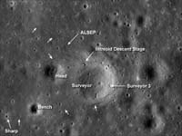 Chandrayaan detects halo around landing site of Apollo 15